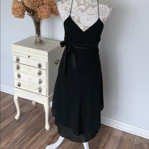 Forever21 black halter dress